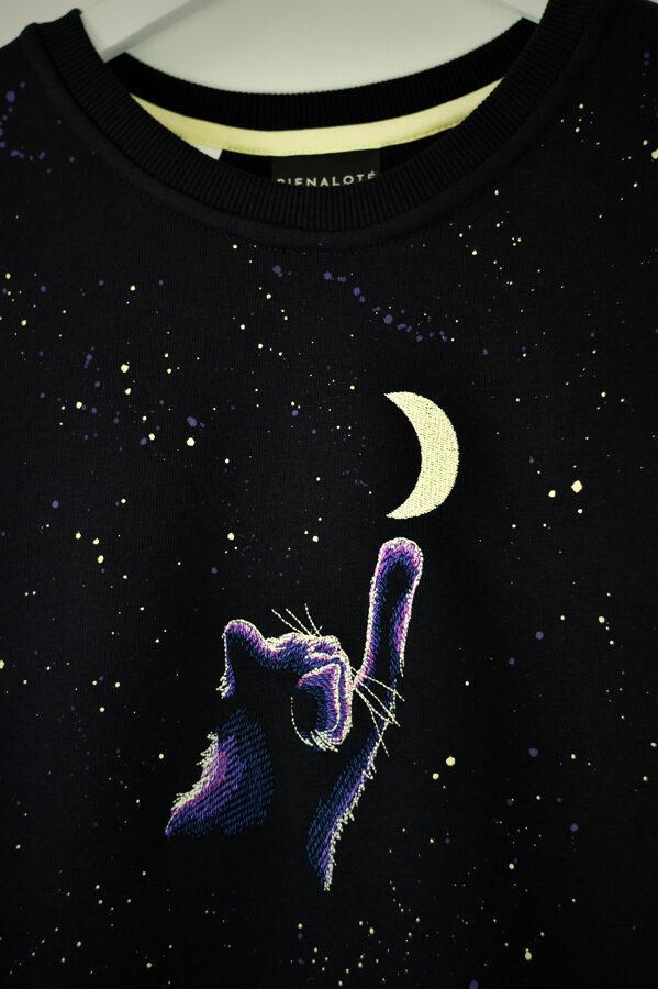Sieviešu džemperis/moonCATcher