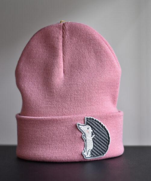 "Cepure ""Ezis"", putekļu rozā"