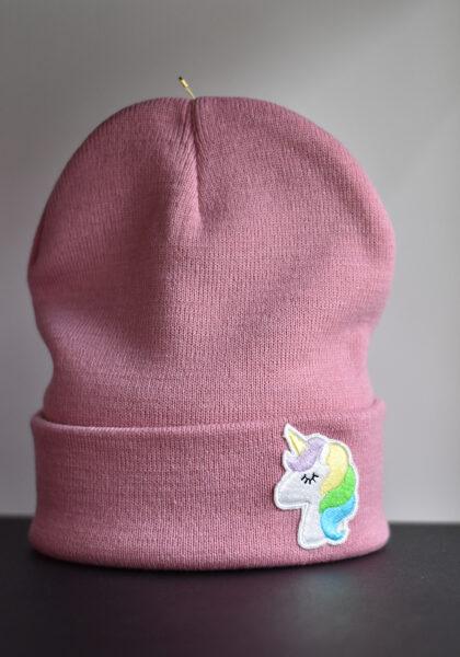 """Cepure """"VIENRADZIS"""", putekļu rozā"""