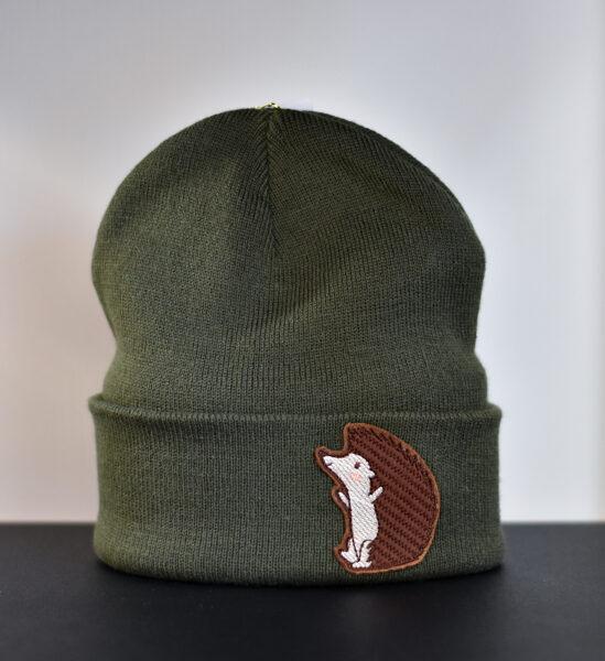 "Cepure ""Ezis"", tumši zaļa"