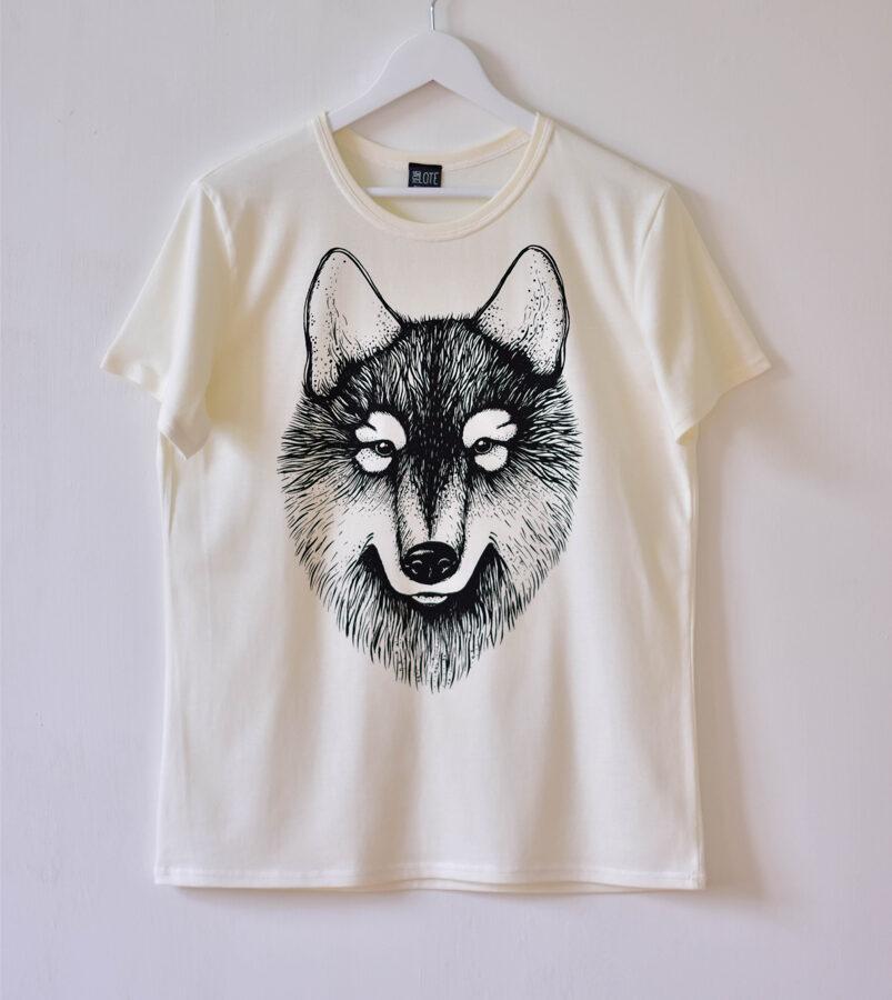 T-krekls VULFY/balts/unisex